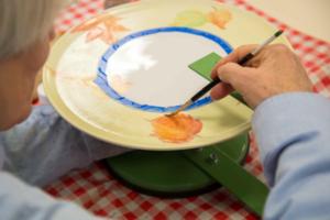 Peinture sur porcelaine ADH